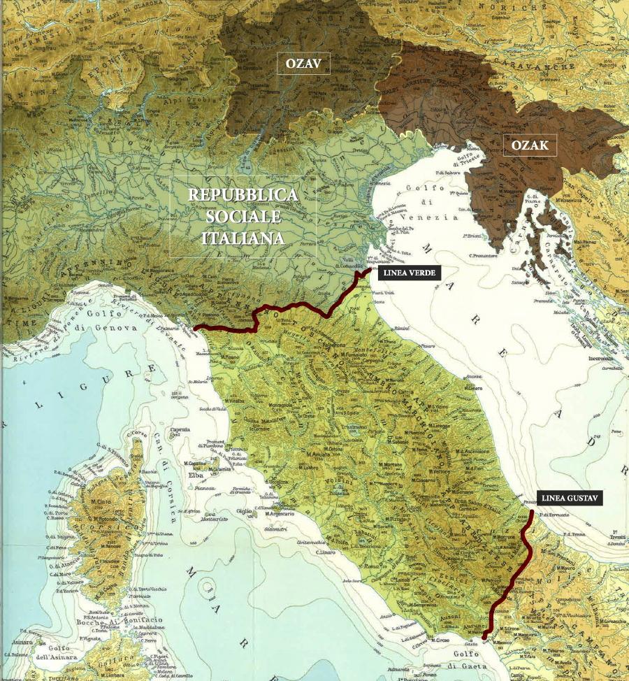 Places territorio della repubblica sociale italiana for Senatori della repubblica italiana nomi